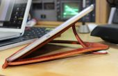 Leder & Sugru iPad Air stehen