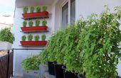 Gründung eines Balkon Garten