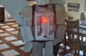Silverbolt Transformer Kostüm mit LEDs