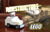 Wie man einen LEGO-unverwüstlich-Shooter-Truck bauen