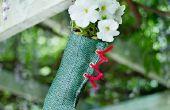 Floral Strümpfe