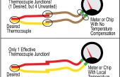 Gewusst wie: rote und gelbe Drähte auf einer K-Thermoelement... mit einem Magneten zu identifizieren!