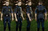 Commander Shepard Stahl verstärkten Uniform - Mass Effect 3