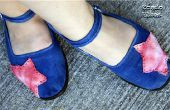 Tie Dye Drop Coth Schuhe