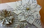DIY-einfache Origami Ecke Bookmark