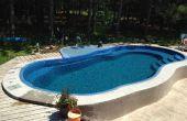 Solare Wasser-Heizung für Pool