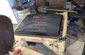 Verwandeln Sie einen alten CRT-Fernseher in einem Raspberry Pi Powered MAME Cocktail Schrank