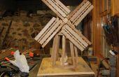 Aufbau einer Windmühle