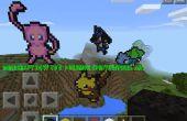 Minecraft-wie man es: Pokemon Sprites/Pixel Kunst