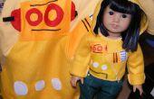 Robohoodie für amerikanische Mädchen Puppen