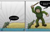Wie erstelle ich eine politische Karikatur