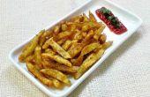 Würzigen Kartoffelchips