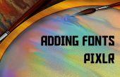 Herunterladen und installieren von Schriftarten auf Pixlr kostenlos!