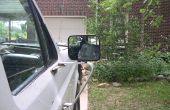 Ford F150 - F250 manuelle Chrom SideView Spiegel, einen guten Spiegel aus einem gebrochenen Wirbel entfernen