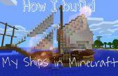 Wie ich meine Schiffe in Minecraft bauen