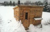 Holz brennt Sauna DIY