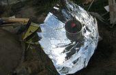 """Erstellen und verwenden einer """"zusammengesetzten"""" parabolischen Solarkocher (Großprojekt)"""