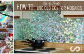 Gewusst wie: Verwenden Sie alte CDs für Mosaik Craft-Projekte - DIY-Küche Backsplash Tipps und Tricks