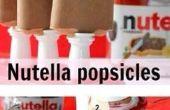 Nutella Eis am Stiel