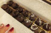 Schokoladen-Käsekuchen Trüffel
