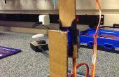 Einfaches Roboterarm aus Karton Stücke