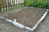 Wicking Bett erhaben Garten