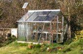 Automatische Solar Powered Gewächshaus Bewässerungssystem
