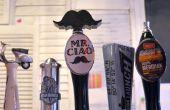 3D-Druck Schnurrbart Bier Wasserhahn Griff