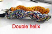 Double Helix Schlüsselanhänger