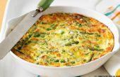 Veggie-Frittata Rezept anpassbar an die je Gemüse in der Saison sind