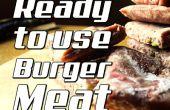 Gewusst wie: Hamburger Fleisch gebrauchsfertig machen