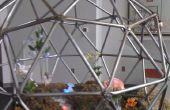 Steampunk geodätische Terrarium