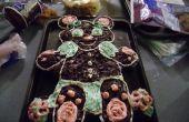 Achselzucken Teddybär Muffin - Kuchen