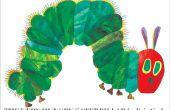 Häkeln Sie eine sehr Hungry Caterpillar: ein Anfänger-Ansatz
