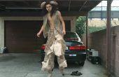 FAUN-Kostüm mit Stelzen springen gemacht!