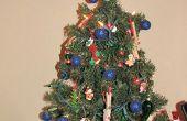Was ist der beste Weg, um ein kleines und festlichen Weihnachtsbaum schmücken?