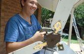 Solarbetriebene Deckenventilator, Kreissäge Umwandlung
