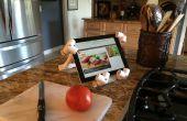 Ein iPad / Tablet PVC-Standfuß kann jeder machen!