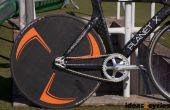 Carbon-Scheibenrad für ein Bahnrad ohne benutzerdefinierte Werkzeuge