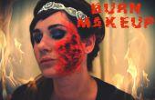 Make-up zu brennen