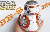 BB 8-Star Wars / Goma Eva-Schaum-DIY-Craft