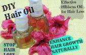 STOP Haar Verlust & verbessern Haar Wachstum natürlich wirksame Hibiskus Öl-Behandlung zu Hause