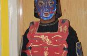 Mein Samurai-Halloween-Kostüm