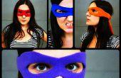 Superhelden Maske Tutorial + Muster
