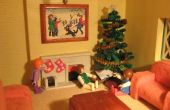 Pfeifenreiniger Weihnachtsbaum