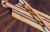 Elegante Holz Steckbrett
