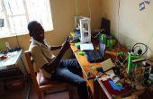 Aufrechterhaltung einer kleinen 3D Druckerei in Uganda