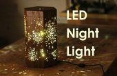 Ein LED Nachtlicht W / Stern-Muster machen