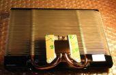 Fügen Sie einen Kühler auf eine ATI All In Wonder 9600 VGA-Karte
