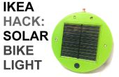 IKEA Hack: Solarbetriebene Bike Licht